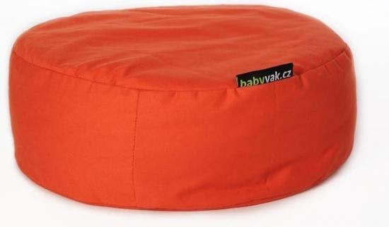Babyvak meditační polštář velký Oranžová
