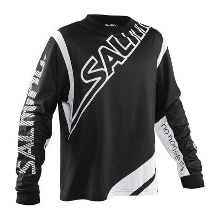 Salming Phoenix Goalie Jersey JR 164 / Black/white