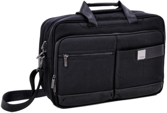 Titan Power Pack Laptop Bag L / Černá