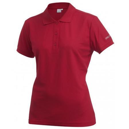 W Triko CRAFT Classic Polo Pique M červená