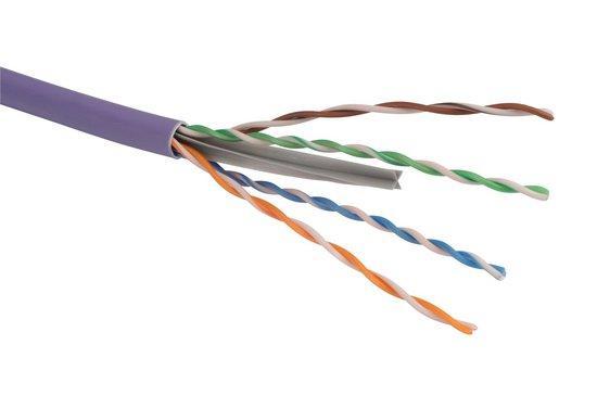 Kabel Solarix SXKD-6-UTP-LSOH UTP Cat6 drát 500m LSOH, SXKD-6-UTP-LSOH