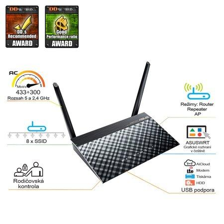 ASUS RT-AC51U ROUTER AC750 DUALBAND, 799168