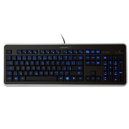 CONNECT IT klávesnice, LED PODSVÍCENÁ, USB, CZ, CI-45