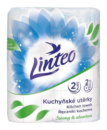 Kuchyňská utěrka Linteo SATIN 2-vrs. 2x48