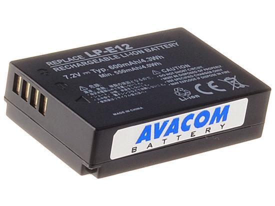 AVACOM DICA-LP12-345 600 mAh baterie - neoriginální