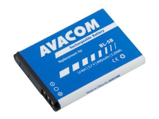 Baterie AVACOM GSNO-BL5B-S890 890mAh - neoriginální