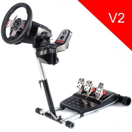 Stojan Wheel Stand Pro DELUXE V2, na volant a pedály pro Logitech G25/G27/G29/G920