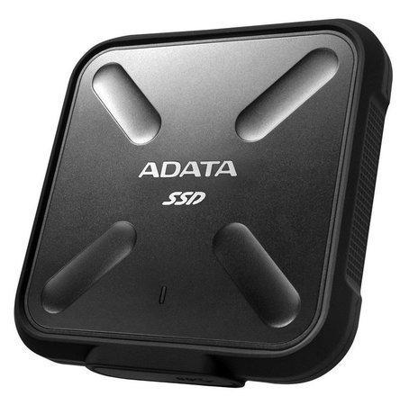 ADATA externí SSD SD700 512GB, 440/430MB/s, USB3.1, černá