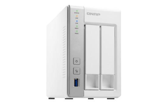 QNAP TS-231P2-1G (1,7GHz/1GB RAM/2xSATA), UQ104