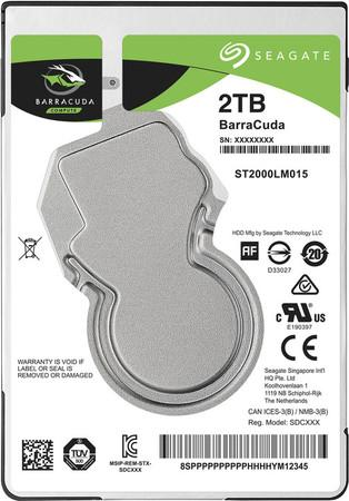 "Seagate BarraCuda 2TB HDD / ST2000LM015/ Interní / 2,5"" / 5400 rpm / SATA 6Gb/s / 128MB"
