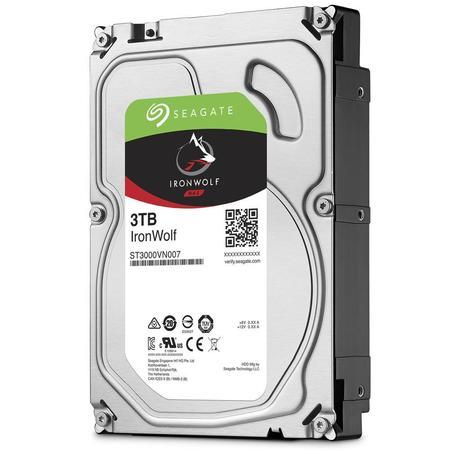 "Seagate IronWolf 3TB HDD / ST3000VN007 / Interní 3,5"" / 5900 rpm / SATA 6Gb/s / 64 MB, ST3000VN007"