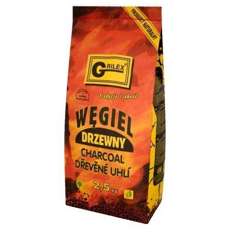 Dřevěné uhlí na gril 2,5 kg