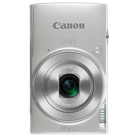 "Canon IXUS 190 SILVER - 20MP, 10x zoom, 24-240mm, 2,7"", HD video, WiFi"