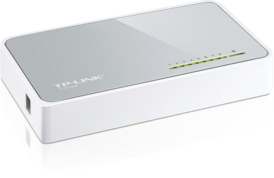 TP-LINK TL-SF1008D 8-port Desktop Switch, TL-SF1008D