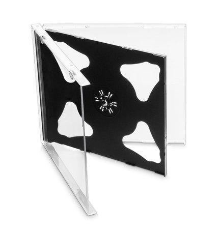 COVER IT Krabička na 2 CD 10mm jewel box + tray - karton 200ks, NN108