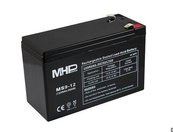 Baterie MHPower MS9-12 VRLA AGM 12V/9Ah , MS9-12