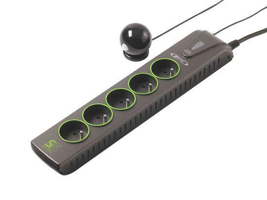 Přepěťová ochrana Infosec S5 Eco TV Sensor 5x zásuvka / TV