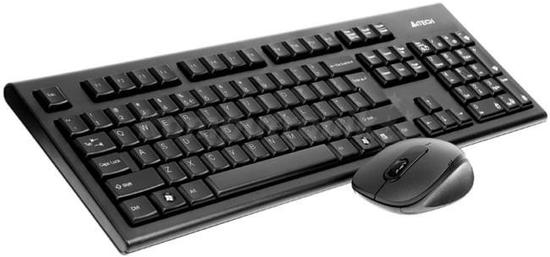 A4tech G7100N set bezdr. kláv. + bezdr. V-Track optická myš,CZ/US, USB, G7100N