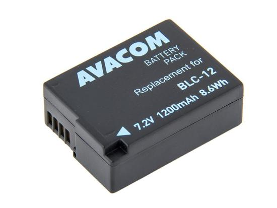 Baterie Avacom Panasonic DMW-BLC12 Li-Ion 7.4 V 1200 mAh 8.6 Wh - neoriginální