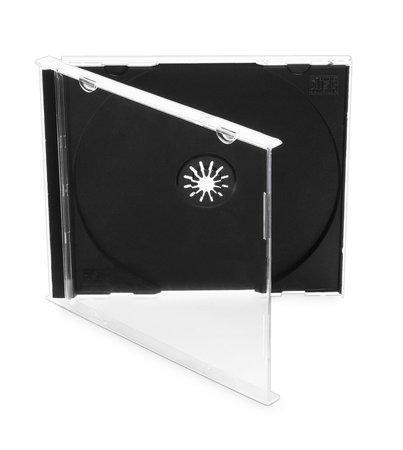 COVER IT Krabička na 1 CD 10mm jewel box + tray - karton 200ks, NN104
