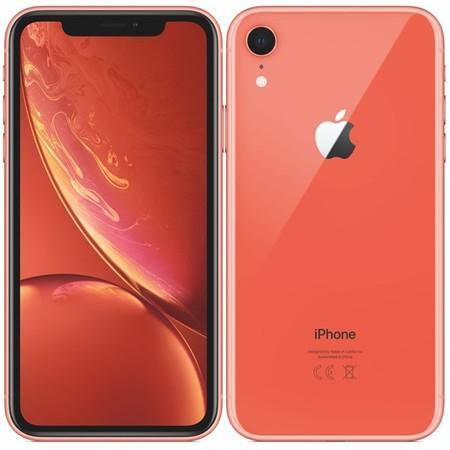 Apple iPhone XR 256GB korálově červený