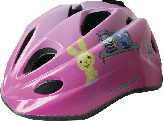 Dětská cyklo helma SULOV GUAR, vel. M, růžová