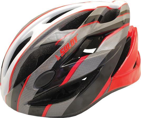 Cyklo helma SULOV RAPID, vel. L, červená