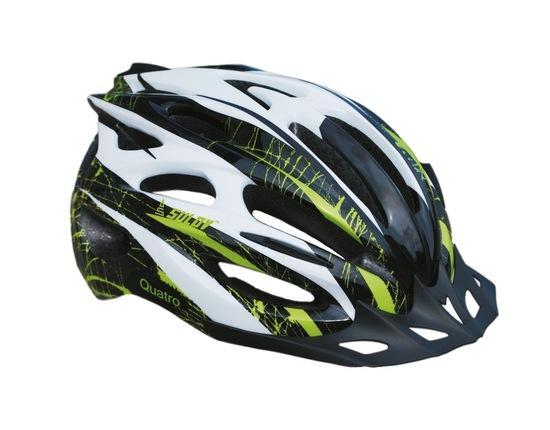 Cyklo helma SULOV QUATRO, vel. M, černo-zelená