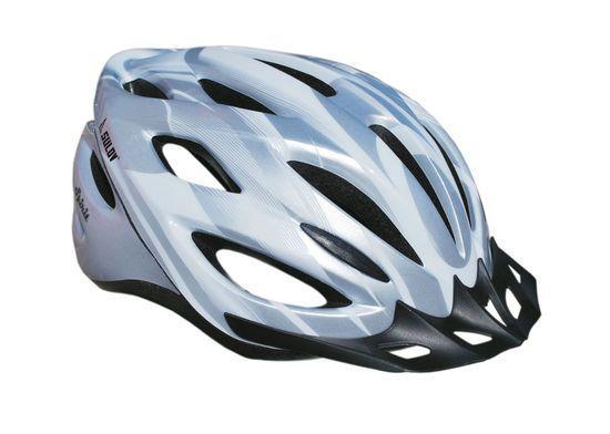 Cyklo helma SULOV SPIRIT, vel. L, stříbrná