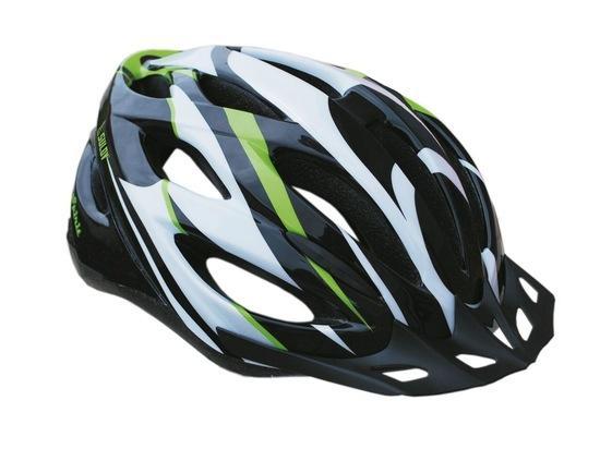 Cyklo helma SULOV SPIRIT, vel. L, černo-zelená