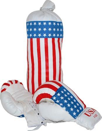 Dětská boxovací sada, USA