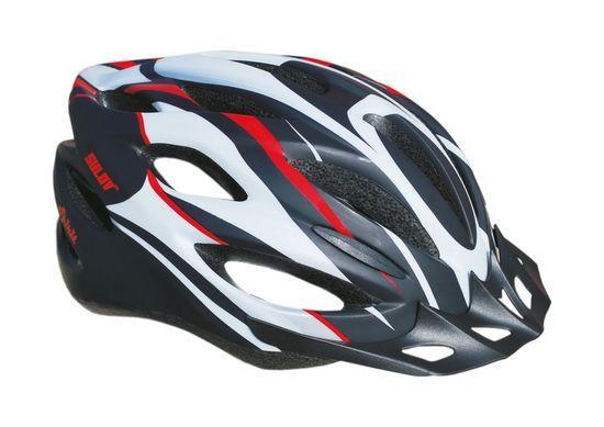 Cyklo helma SULOV SPIRIT, vel. M, černo-červená polomat