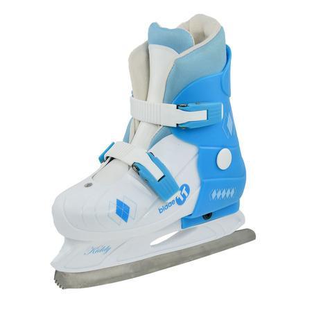 Dívčí zimní brusle TT-BLADE KIDDY, vel. S(29-32), bílo-modré, S TT blade