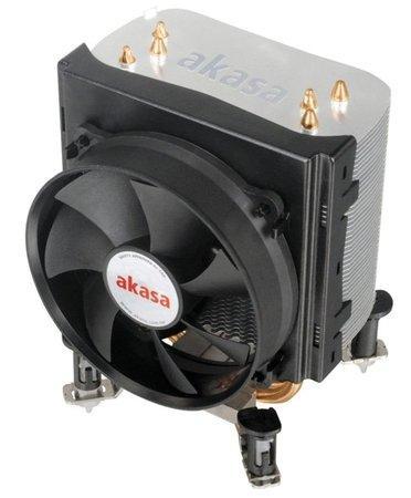 AKASA Chladič CPU AK-968 X4 pro patice LGA 775,115x, 1366, 2011, Socket AMx, FMx, měděné jádro, 92mm PWM ventilátor, AK-968