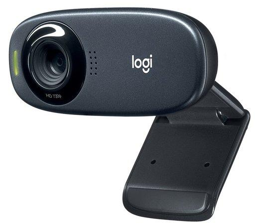 Logitech HD Webcam C310, černá, 960-001065