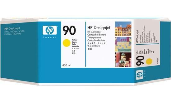 HP no 90 - žlutá inkoustová kazeta velká, C5065A, C5065A