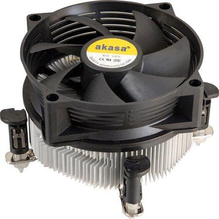 AKASA Chladič CPU AK-955V2 pro Intel LGA 775, měděné jádro, 95mm PWM ventilátor, AK-955V2