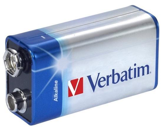 VERBATIM alkalická baterie 9V (6LR61)/ blistr 1ks
