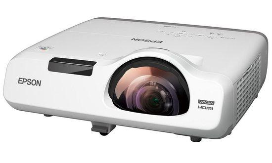 EPSON 3LCD/3chip projektor EB-535W 1280x800 WXGA/3400 ANSI/16000:1/HDMI/LAN/16W Repro/optionWi-fi/(EB535W)
