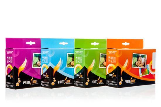 PRINTLINE Multipack kompatibilní s Canon CLI-526 / pro MG 5250, MG 8150 / 1 x 21 ml + 4 x 11 ml, C,M,Y,BK BK, čip, PLMC03