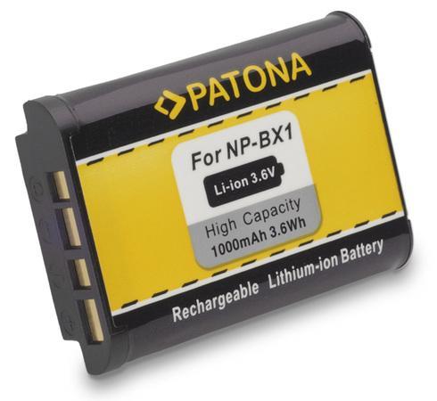 PATONA baterie pro foto Sony NP-BX1 1000mAh