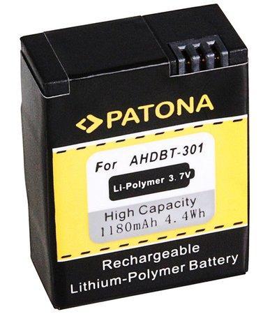 PATONA baterie pro digitální kameru GoPro HD Hero 3 1180mAh Li-Pol