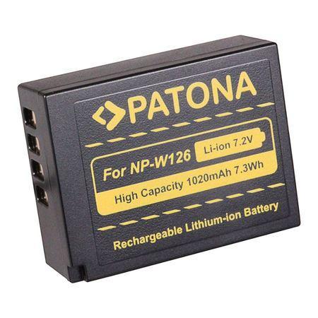 PATONA baterie pro foto Fuji NP-W126 1020mAh Li-Ion