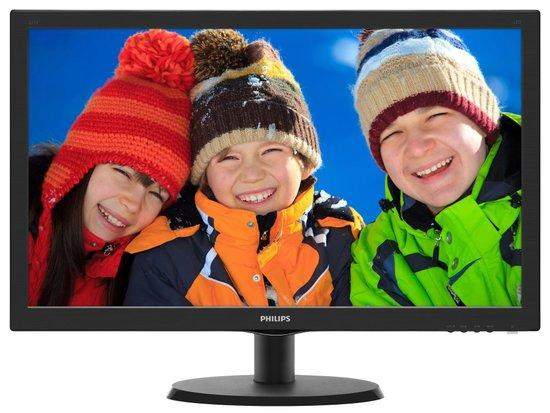 "Monitor Philips 223V5LSB2 21.5"",LED, TFT, 5ms, 600:1, 200cd/m2, 1920 x 1080,, 223V5LSB2/10"
