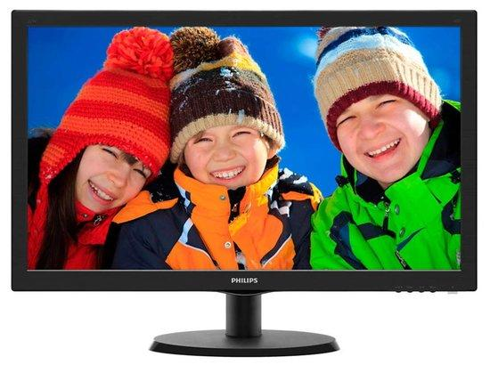 """Monitor Philips 223V5LSB 21.5"""",LED, TFT, 5ms, 1000:1, 250cd/m2, 1920 x 1080,, 223V5LSB/00"""