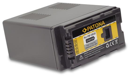 PATONA baterie pro foto Panasonic VW-VBG6 3900mAh
