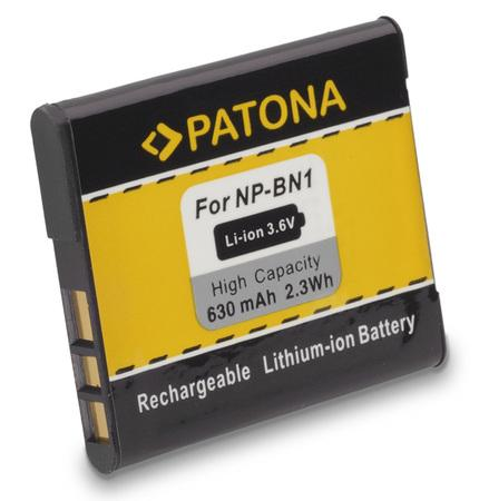 PATONA baterie pro foto Sony NP-BN1 630mAh
