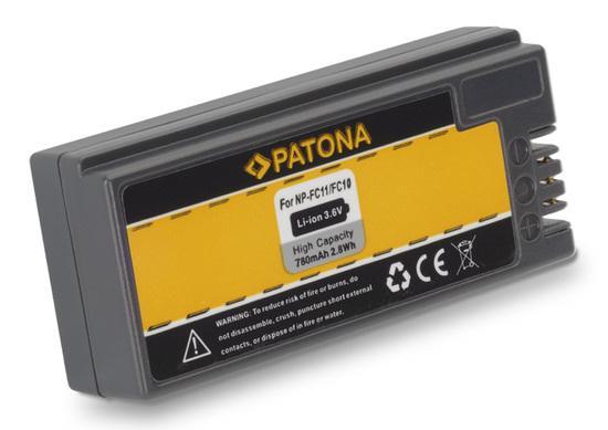 PATONA baterie pro foto Sony NP-FC10/11 780mAh