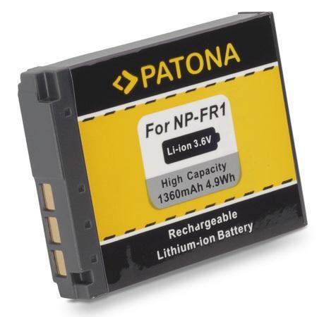 PATONA baterie pro foto Sony NP-FR1 1220mAh