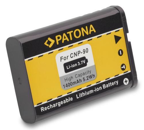 PATONA baterie pro foto Casio NP-90 1400mAh